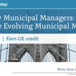 Image for the Tweet beginning: MacKay Municipal Managers provides an