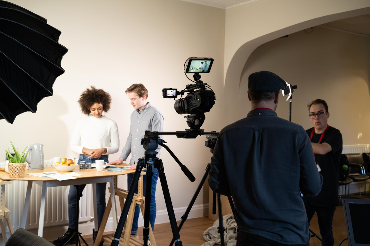 Who would be weird enough to film people having breakfast?! #videoproduction #nottingham