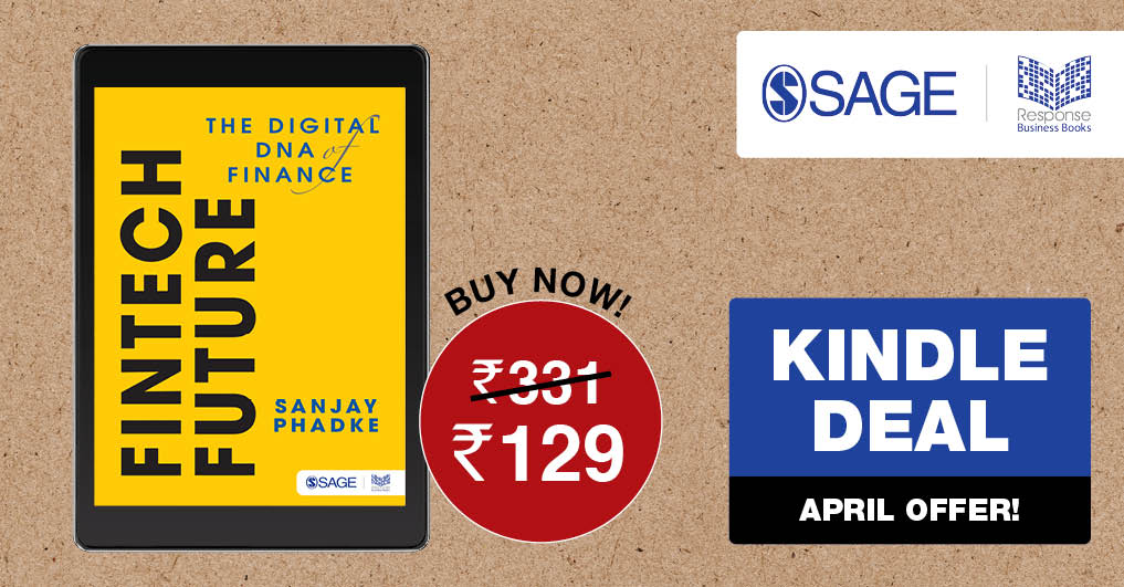 Special #Kindle #April offer on our title FinTech Future. Place your order on #Amazon today @ ow.ly/w0FT50z668y #SAGEResponse @AmazonKindle