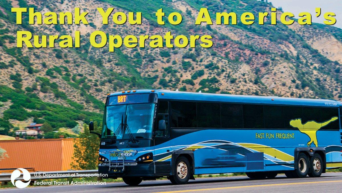 Federal Transit Admn (@FTA_DOT) on Twitter photo 07/04/2020 14:31:38