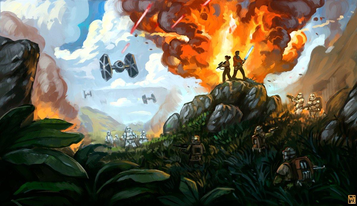 Star Wars Commission for @ang3lview  #digitalart #practice #art #visualartpic.twitter.com/oTMGiPZHn1