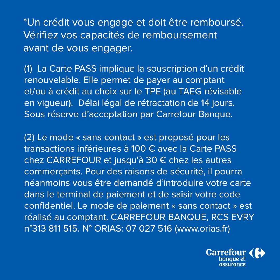 Carrefour On Twitter Sans Contact Pour Encore Plus De Securite Nous Augmentons Le Plafond De Paiement Sans Contact De Nos Carte Pass A 100 Https T Co Wtvumdw7at