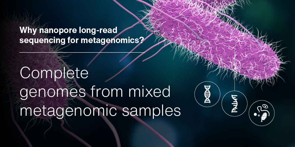 Check out our new step-by-step guide to metagenomic sequencing with nanopore technology: bit.ly/39TtTtI