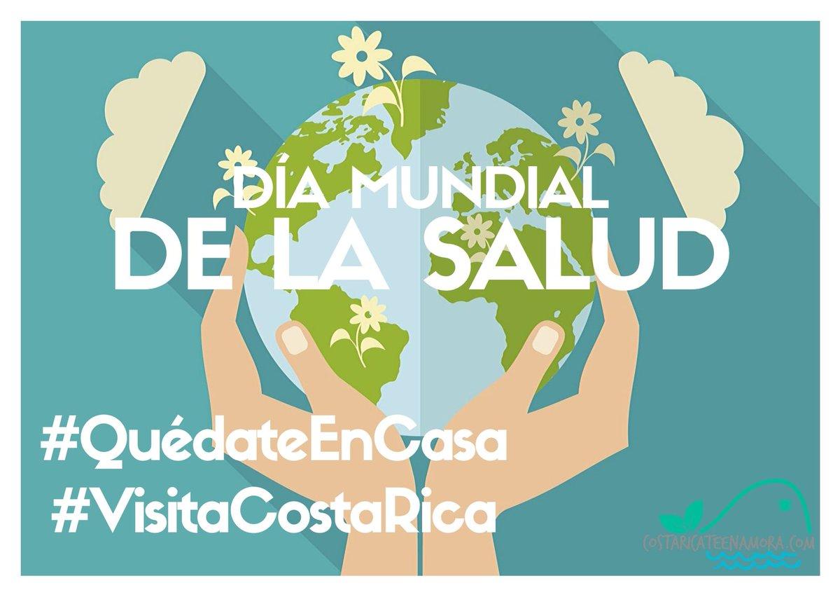 #DíaMundialDeLaSalud, #QuédateEnCasa HOY, para #Viajar MAÑANA  #WorldHealthDay, Stay home TODAY, to travel TOMORROW  http://www.costaricateenamora.compic.twitter.com/CRvLQKuUwP