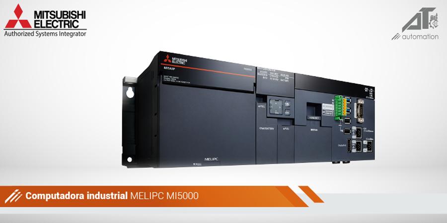 MI5000 es el producto insignia de la serie MELIPC de computadoras industriales.   Mas Información:   #MitsubishiElectric #MELIPC #MI500 #ComputadoraIndustrial #ProcessAutomation #ProcessControl #SCADA #HMI #Industry #Solucion