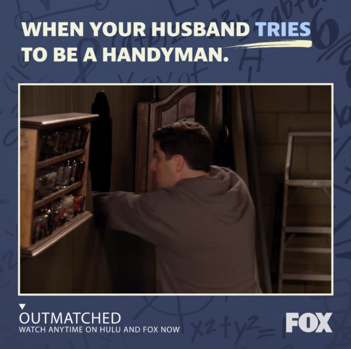RT if you can relate to this! 🛠️😂 Catch up on ALL EPISODES of #Outmatched ANYTIME: fox.tv/outmatchedtw