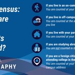 Image for the Tweet beginning: Have you completed the Census