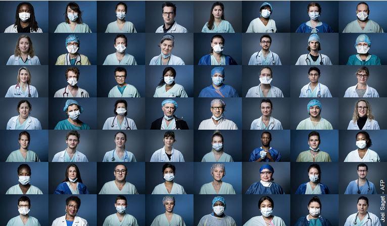 #JournéeMondialeDeLaSanté | MERCI aux soignantes et soignants et à toutes les personnes de la chaîne de #santé qui permettent de sauver des vies partout dans le monde.   Merci à toutes les manifestations de #solidarité  https://bit.ly/2UQURhB  #TousUnisContreLeVirus #COVID19