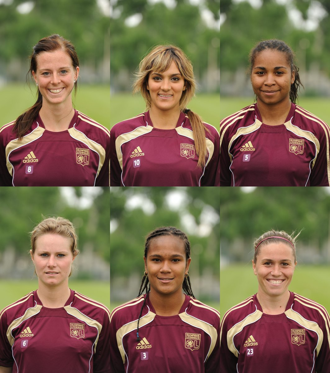 6️⃣ stars of Lyon's 1st #UWCL win in 2011🌟🌟🌟🌟🌟🌟 ... but you can only pick one__________🤔
