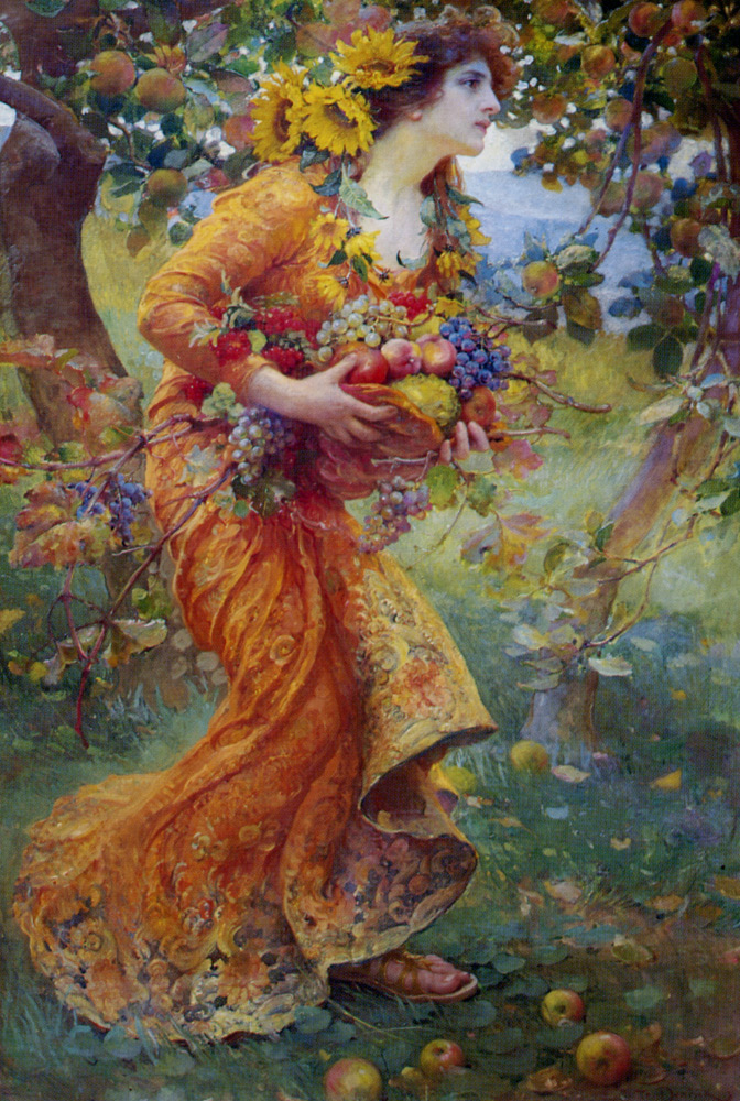 Franz Dvorak (1862-1927) was a Czech painter who painted colorful and joyful scenes.   In the Orchard is a great example of his energetic brushstrokes and colorful swirls.  #Art #Painting #Colorful #Happy pic.twitter.com/hQdTvS2w6l