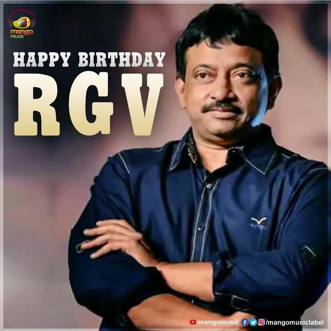 Happy Birthday Ram Gopal Varma Garu