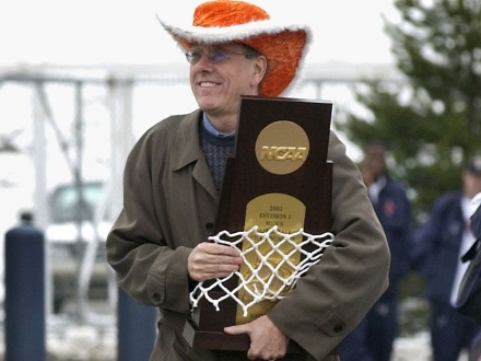 Just remember that Syracuse winning it all led to Jim Boeheim wearing this hat. So even if you're not an Orange fan, it was probably worth it just for this image. https://t.co/2H0TcZ2EeF