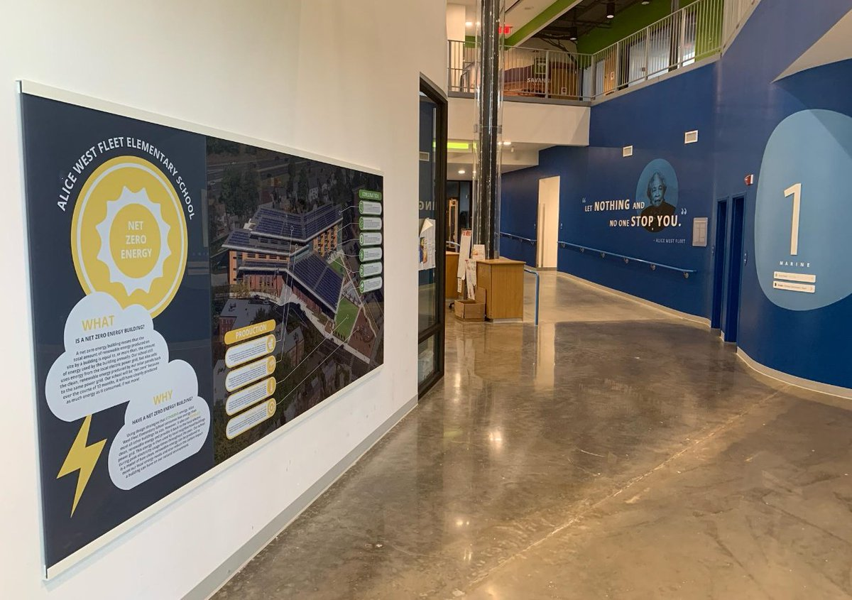 New graphics installed at <a target='_blank' href='http://twitter.com/APS_FleetES'>@APS_FleetES</a> main floor look awesome, highlighting school namesake and building's many <a target='_blank' href='http://search.twitter.com/search?q=sustainability'><a target='_blank' href='https://twitter.com/hashtag/sustainability?src=hash'>#sustainability</a></a> features!!   <a target='_blank' href='http://twitter.com/Principal_Fleet'>@Principal_Fleet</a> <a target='_blank' href='http://twitter.com/Fleet_ITC'>@Fleet_ITC</a> <a target='_blank' href='http://twitter.com/mygreenschools'>@mygreenschools</a> <a target='_blank' href='http://twitter.com/ArlHist'>@ArlHist</a> <a target='_blank' href='https://t.co/kNImQxXdZC'>https://t.co/kNImQxXdZC</a>