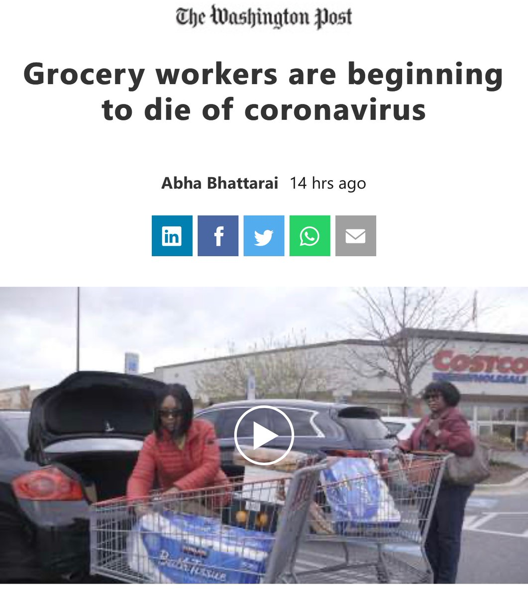 And here....we... go #TheStormIsUponUs   https://www.msn.com/en-us/news/us/grocery-workers-are-beginning-to-die-of-coronavirus/ar-BB12eFSF…pic.twitter.com/W1V3E6S1a2