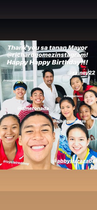 Happy birthday Mayor Richard gomez
