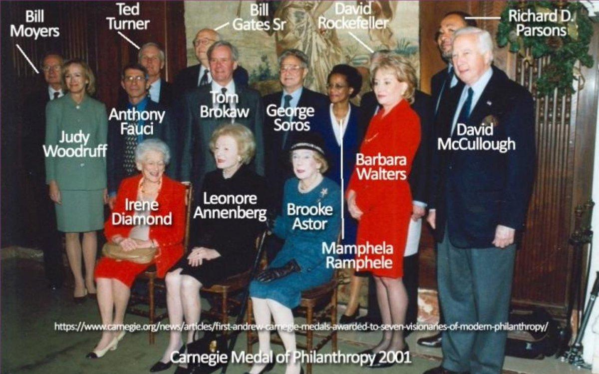 Il est temps d'exposer l'OMS derrière le coronavirus, Pourquoi le Dr Fauci traîne-t-il avec Soros, Bill Gates Sr (le père de Bill Gates), David Rockefeller etc.. #WWG1WGA #DarkToLight #TheStormIsUponUs pic.twitter.com/BDDIPcB6Cl