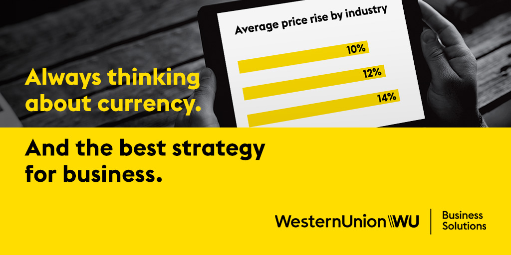 Fluctuating #currency rates caused some companies to raise prices in the past year. This industry had the biggest increase...  #FXBarometer Read more: https://business.westernunion.com/en-us/fx-barometer/?utm_source=twitter&utm_medium=social&utm_campaign=na_betters_04072020…