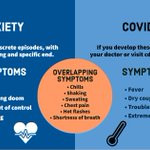 Image for the Tweet beginning: Panic attacks are discrete episodes,