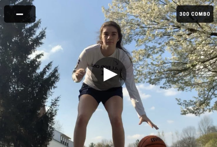 A few clips of Our Tigers still working on their game and challenging each other virtually!!! Great job ladies, keep it up!! #OurWay pic.twitter.com/bvEsobVswN