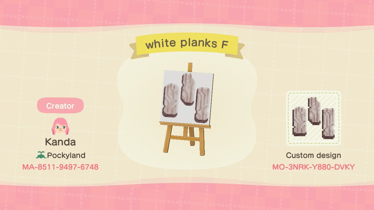 Kanda On Twitter Part Two Of The White Wooden Planks