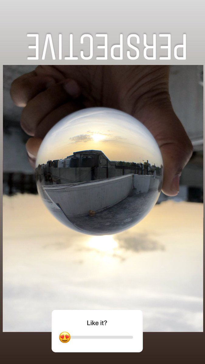 Some days look better upside down! . . . . #sunset #sunsetphotography #sunsetlover #shotoniphone  #eveningsky #lensball #lensballphotography #thelonelyplanet #justgoshoot #artofvisuals #likeforlikes #followme #nakedplanet #igshotz #igers #instaphoto #potd #fotografia #imbridge