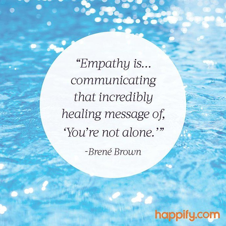 Empathy is the thread that connects us to other humans. http://bit.ly/2JnGg5I . . .  #compassion #kindness #mindfulness #meditation #bepresent #powerofnow #Love #zen #wellbeing #wellness #mominbusiness #womeninbusiness #workingmomlife #authenticself #womeninbizpic.twitter.com/LeXO4K2vkM