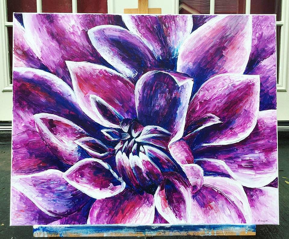 Purple Dahlia #purple #dahlia #flower #paletteknife #dallasartist #dallasart #colorfulart #fineartist #interiorart #artoftheday #creativebusiness #artstudio #creativebusinessowner #handmade #creativeentrepreneur  #Entrepreneur #dallascommunity  #freelancingfemales #smallbusinesspic.twitter.com/IpcPcwIwBa