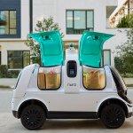 Image for the Tweet beginning: Self-driving startup Nuro gets green