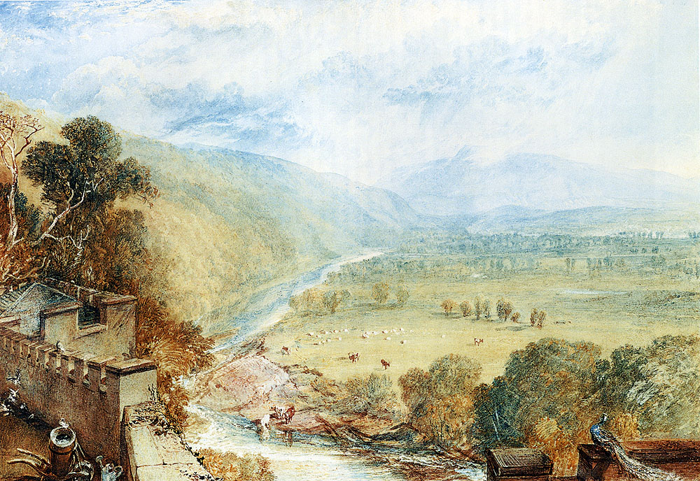 Ingleborough From The Terrace Of Hornby Castle #jmwturner #englishart pic.twitter.com/ZS2k1jqNSV