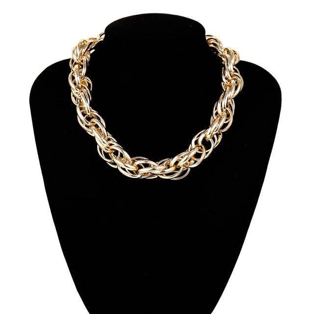 Now $13.95  Cuban Thick Twist Chain Necklace for Women by Jenicy  Shop https://shortlink.store/EiqUPBa0DM  #necklace #jewelry #necklaces #instajewelry #chainpic.twitter.com/N6qslk7Uzj