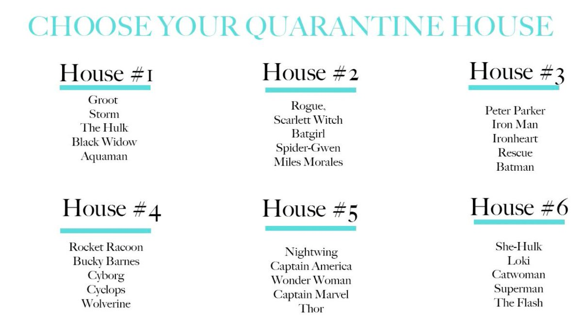 These 'choose your quarantine house' games keep getting harder 😅