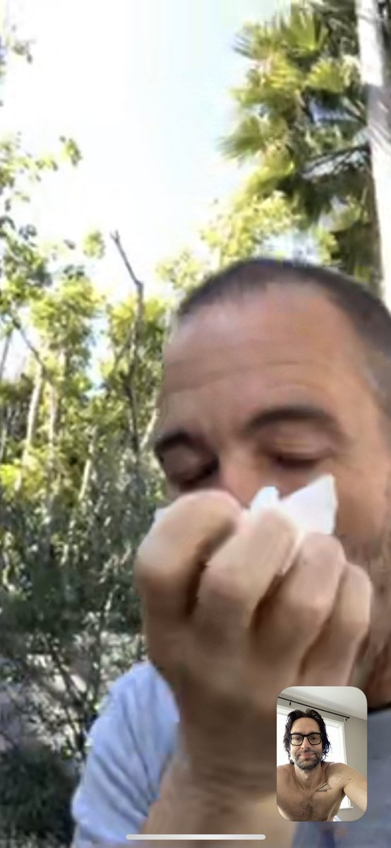 Wow @bryancallen we have to talk about this WHY ARE YOU SNIFFLING MAN?! WHAT ARE YOU HIDING?!