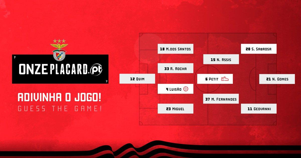 Adivinha o jogo! 👟 - Assistência ⚽ - Golo #BenficaEmCasa