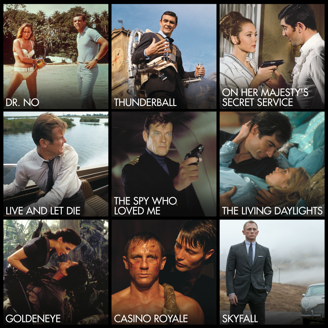 James Bond on Twitter
