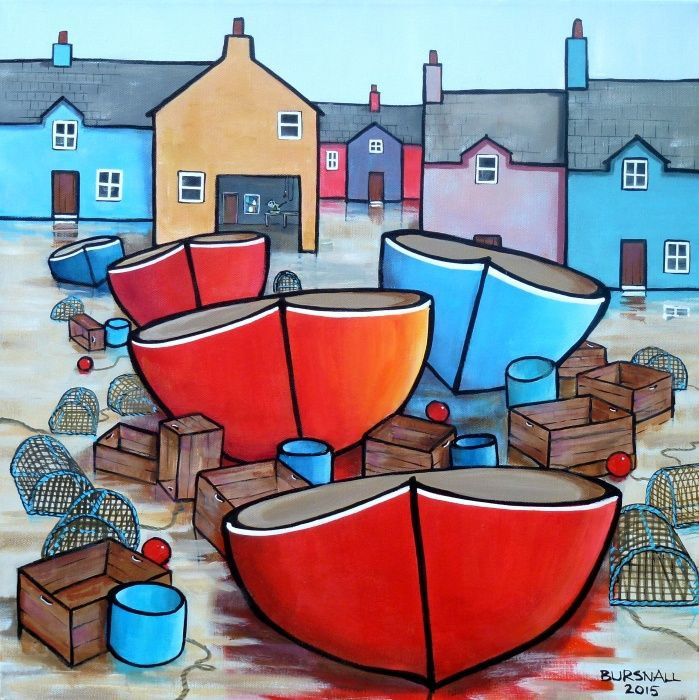 #paintings by British artist © Paul Bursnall pic.twitter.com/j5ZjLmROdM