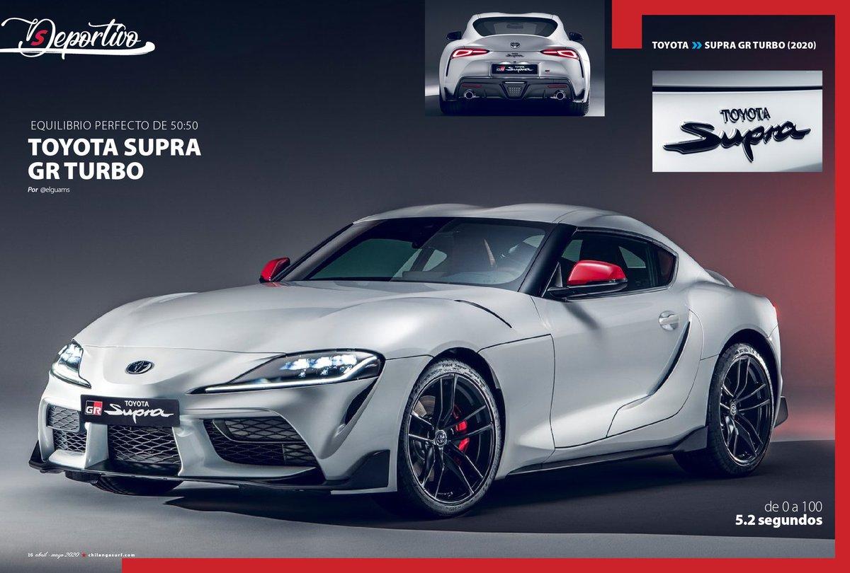 #SuperDeportivo   el nuevo @ToyotaMex #SUPRAGR todo un icono. #SupraEnMexico 🔽 bit.ly/ChilangaAbriMa…