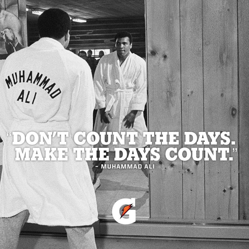 Athletes never stop, even now. So @Gatorade is helping you to raise your game with at-home training for athletes. Whatever sport you play, #makethedayscount. #ad