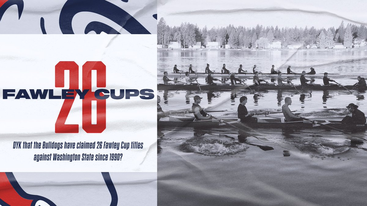 #DYK that since 1990, the Zags have claimed 26 Fawley Cup titles in the annual regatta against Washington State?   👊👊👊  #UnitedWeZag https://t.co/zBhIKkjvey
