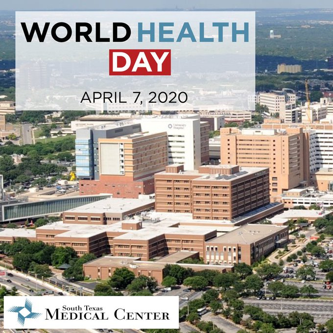 Photo from 7 Apr 2020 by @SouthTexasMed on Twitter