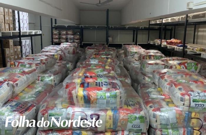 Defesa Civil distribuirá 2,5 mil cestas básicas para atender municípios em situação de emergência  #FolhadoNordeste #notícias #jornal #FolhaPlay #rádio #24horas #música #Lagoa #LagoaVermelha #RioGrandedoSul #spl3