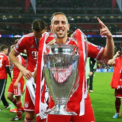 Franck Ribery turns 37 today! Happy Birthday