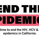 Image for the Tweet beginning: To end the epidemics, we