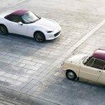 Image for the Tweet beginning: Mazda, marking 100 years, readies