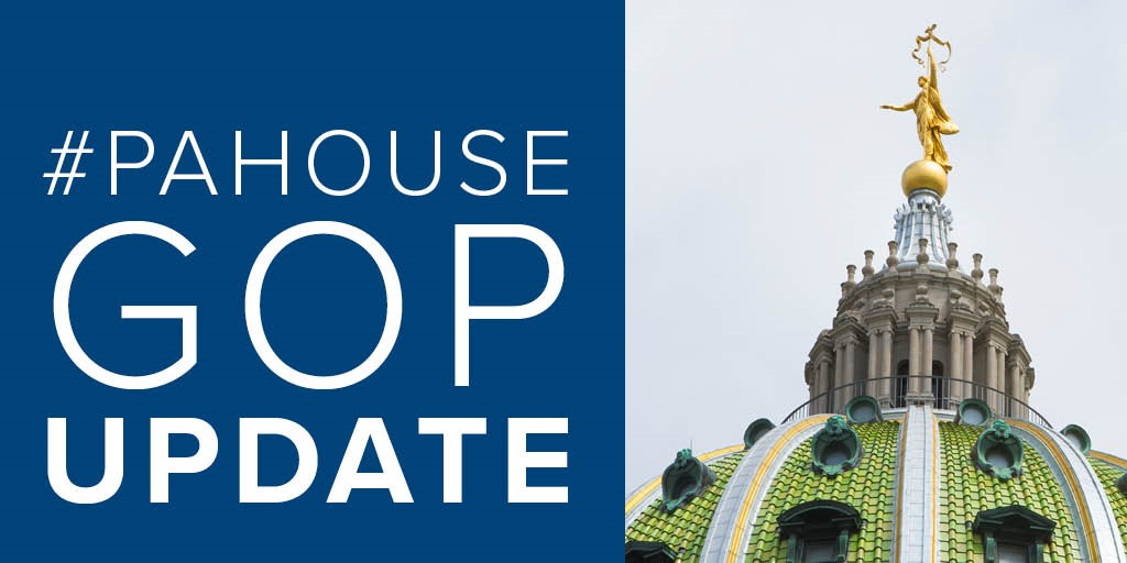 Today's session has now adjourned and the #PAHouse will return to session at a 12-hour call of the chair.