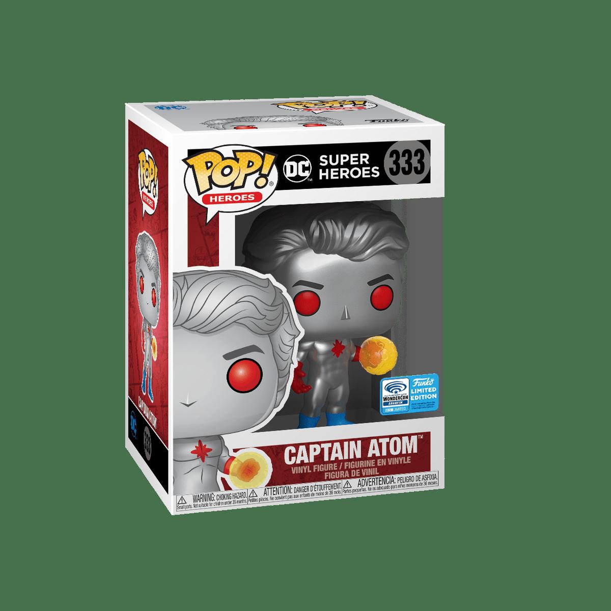 RT & follow @OriginalFunko for the chance to win a @WonderCon/#FunkoVirtualCon exclusive Captain Atom Pop!