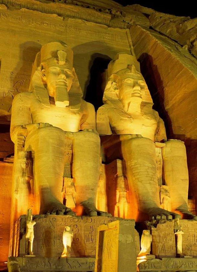 Разкриха неизвестна досега част на храма на фараон Рамзес Втори (СНИМКИ)