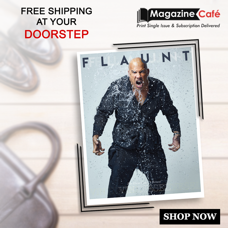 Flaunt Magazine - The leading destination for men's contemporary fashion & streetwear. Get yours from https://www.magazinecafestore.com/flaunt-magazine.html… #mensfashion #fashion #menswear #style #menstyle #men #streetstyle #streetwear #menshair #Flaunt #vin #diesel #TheHomeIssue #Return #menshair #streetwearpic.twitter.com/f49ktzCCxq