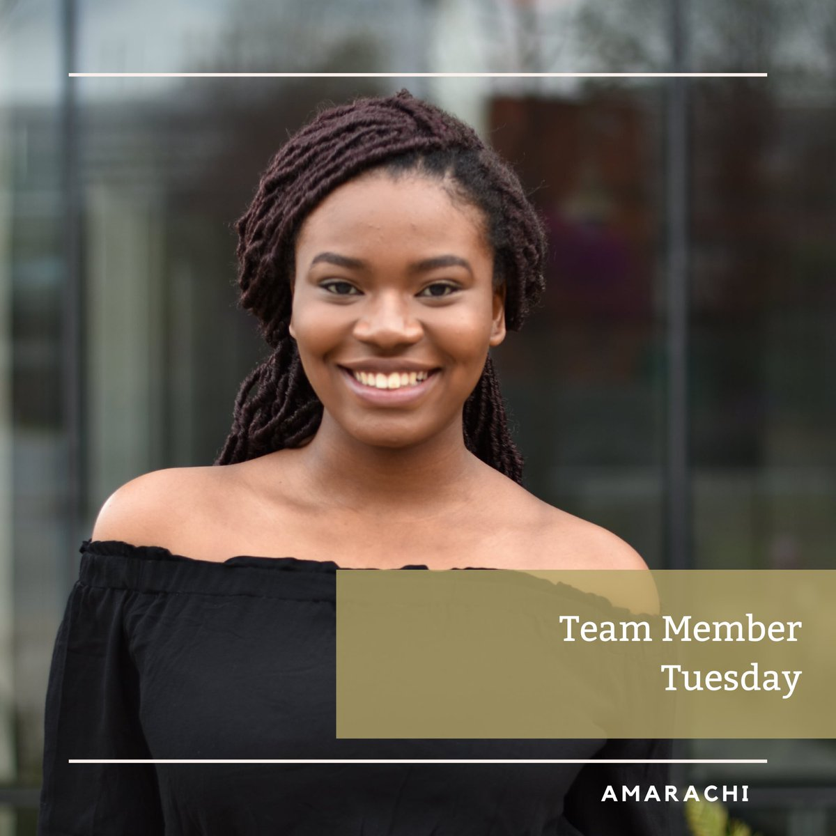 Say hello to this week's #teammembertuesday! Amarachi is part of the PCM sub team, &her role for the team is to build the battery controller model. Her favorite part is seeing her code work & hearing the battery contractors close. ⚡️  #teammembertuesday #PCM #ecocar #womeninstem https://t.co/eK9oQKluZs