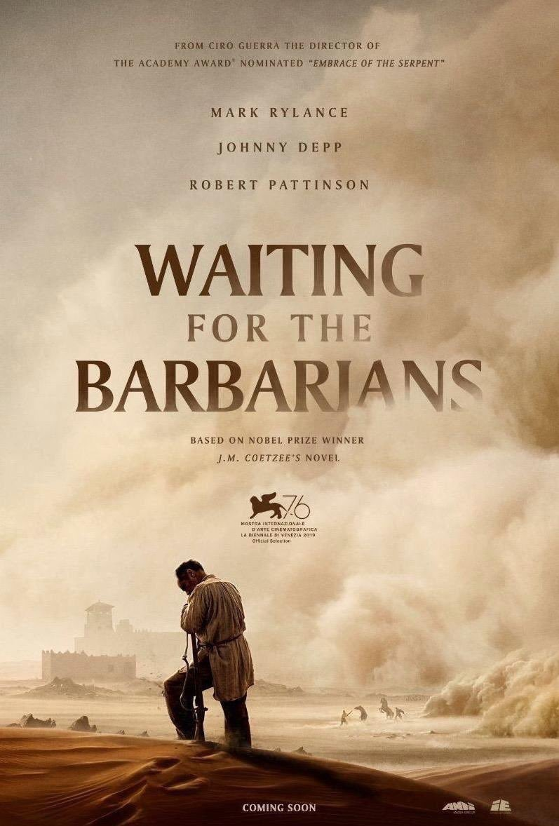Ooh, I read Coetzee's novel back in undergrad. This should be a great film!