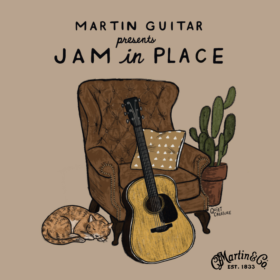 "Join me tomorrow at 12pm PT on my Facebook page for a Livestream with @MartinGuitar as a part of their ""Jam in Place"" series! https://www.facebook.com/jadejacksonband/ …pic.twitter.com/aZFgfA2Yqq"